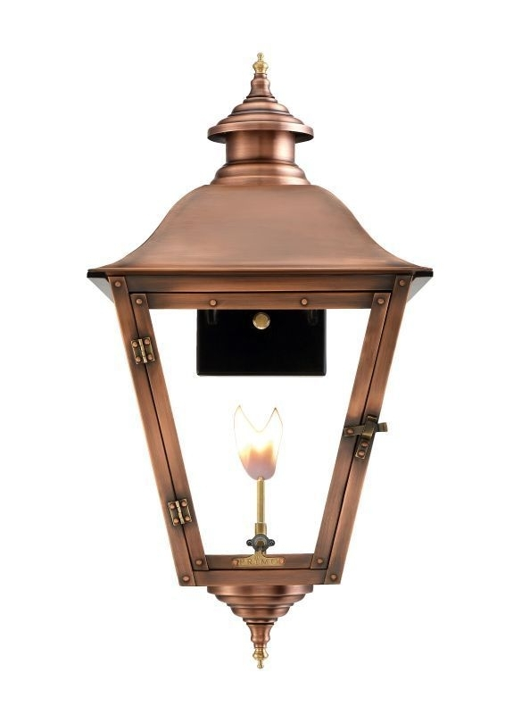 "Inspiration about Primo Lanterns Jl 27G Jolie 30"" Wide Outdoor Wall Mounted Lantern Pertaining To Outdoor Mounted Lanterns (#14 of 15)"