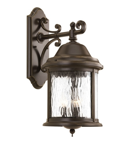 Inspiration about Progress P5651 20 Ashmore 3 Light 21 Inch Antique Bronze Outdoor For Outdoor Bronze Lanterns (#12 of 15)