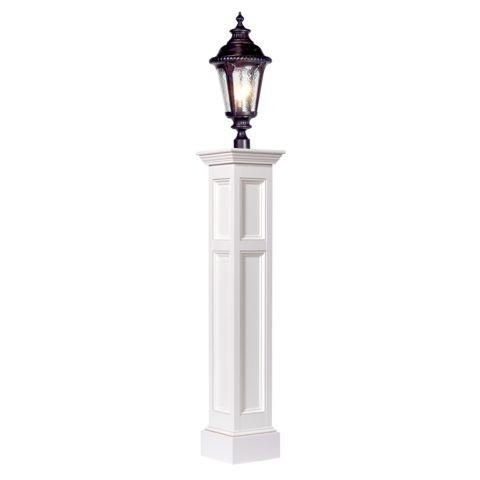 Providence Amish Vinyl Raised Panel Lamp Post | Lighting | Pinterest Pertaining To Outdoor Vinyl Lanterns (View 15 of 15)