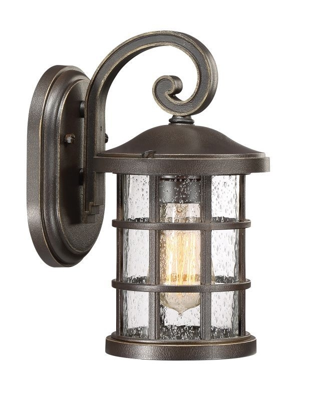 "Inspiration about Quoizel Cse8406 Crusade Single Light 11"" Tall Outdoor Lantern Style Pertaining To Tall Outdoor Lanterns (#15 of 15)"