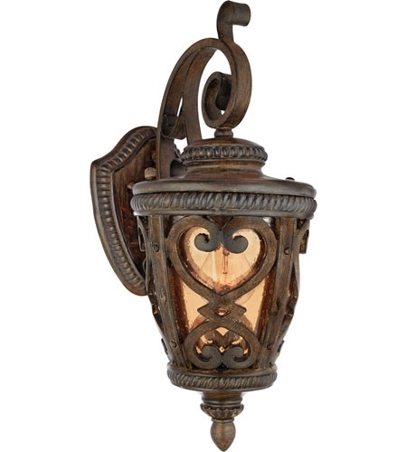 Quoizel Lighting Fort Quinn 1 Light Outdoor Wall Lantern In Antique Pertaining To Quoizel Outdoor Lanterns (View 4 of 15)