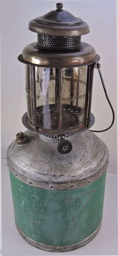 Inspiration about Rare Coleman Jumbo Gas Lantern Mica Logging Brooder Forest Service Throughout Jumbo Outdoor Lanterns (#15 of 15)