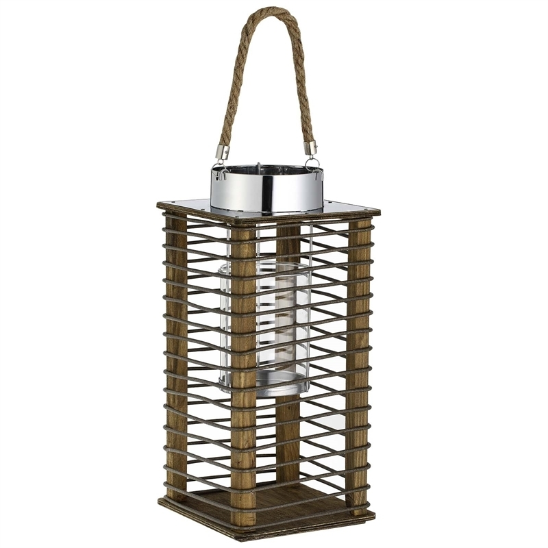 Inspiration about Rattan Garden Lantern At Homebase.co.uk Throughout Outdoor Rattan Lanterns (#8 of 15)