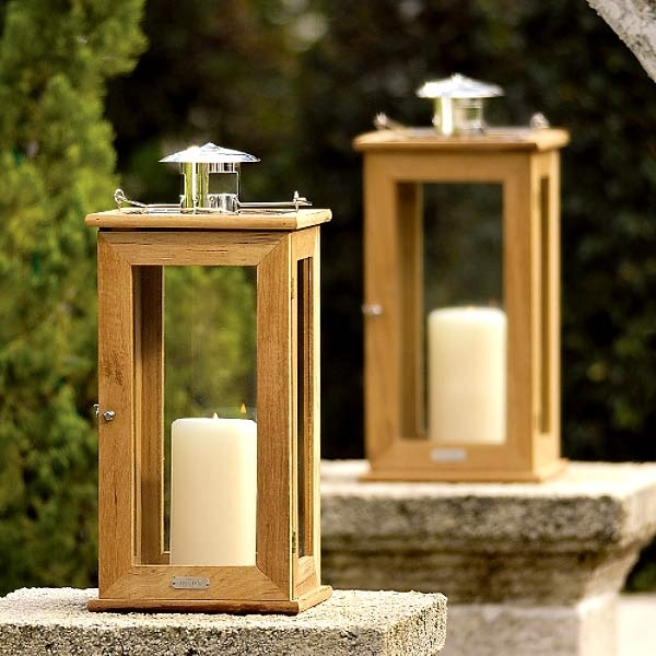 Inspiration about Rugged Teak Lanterns – The Green Head Inside Outdoor Teak Lanterns (#5 of 15)