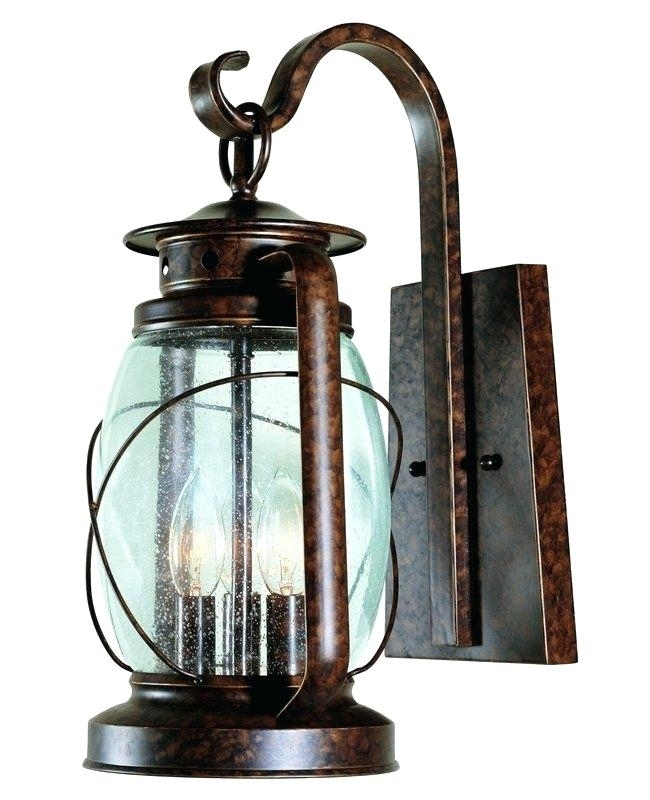 Inspiration about Rustic Outdoor Light Fixture Lantern Rustic Outdoor Lighting Regarding Rustic Outdoor Electric Lanterns (#4 of 15)