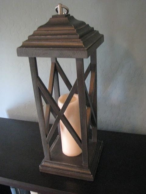 Rustic Wooden Lanterns | Lantern Obsession | Pinterest | Woods Intended For Large Outdoor Rustic Lanterns (View 14 of 15)