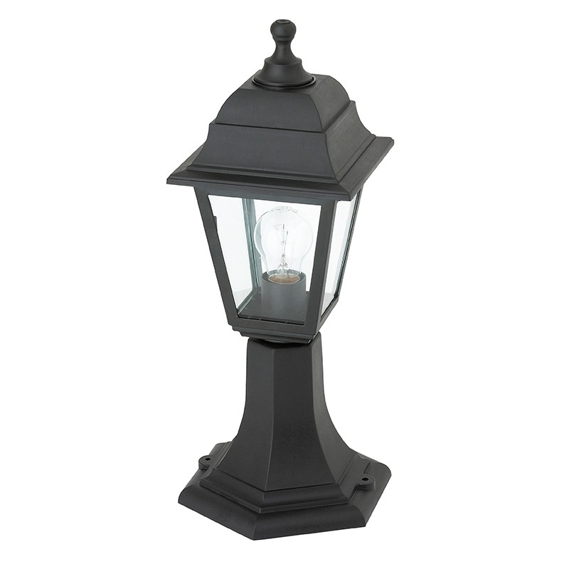 Saxby Pimlico El 40043 Outdoor Pillar Lanterns Regarding Outdoor Pillar Lanterns (#13 of 15)