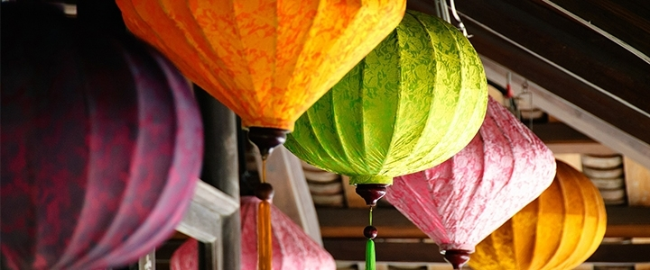 Silk Lanterns Now On Sale! With Regard To Outdoor Vietnamese Lanterns (#7 of 15)