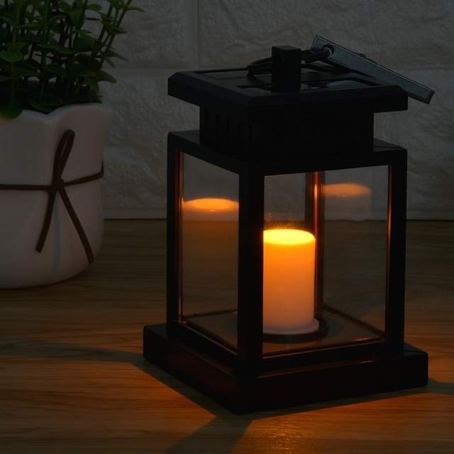 Smernit Candle Solar Light Outdoor Garden Lights Waterproof Led Within Outdoor Lanterns With Led Candles (View 9 of 15)