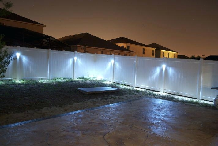 Solar Lights For Fence Post Cap Low Voltage Led Outdoor Lighting Pertaining To Outdoor Low Voltage Lanterns (#15 of 15)