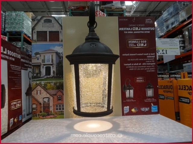 Solar Outdoor Lanterns Costco Altair Lighting Outdoor Energy Saving Throughout Outdoor Lanterns At Costco (View 4 of 15)
