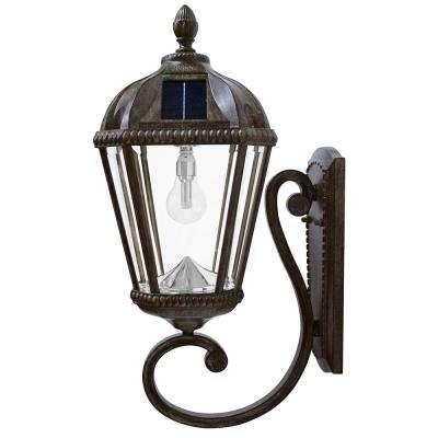 Solar – Outdoor Lanterns – Outdoor Lighting – Lighting – The Home Depot With Outdoor Lanterns With Led Lights (View 11 of 15)