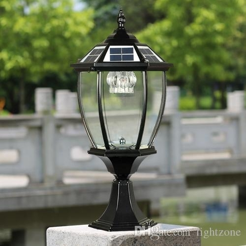 Popular Photo of Outdoor Post Lanterns