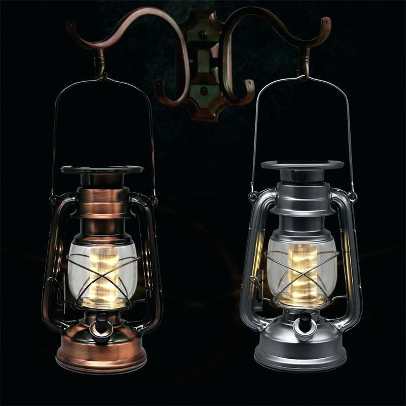 Solar Powered Decorative Lanterns Led Lighting Solar Lantern Vintage Throughout Outdoor Lawn Lanterns (View 14 of 15)