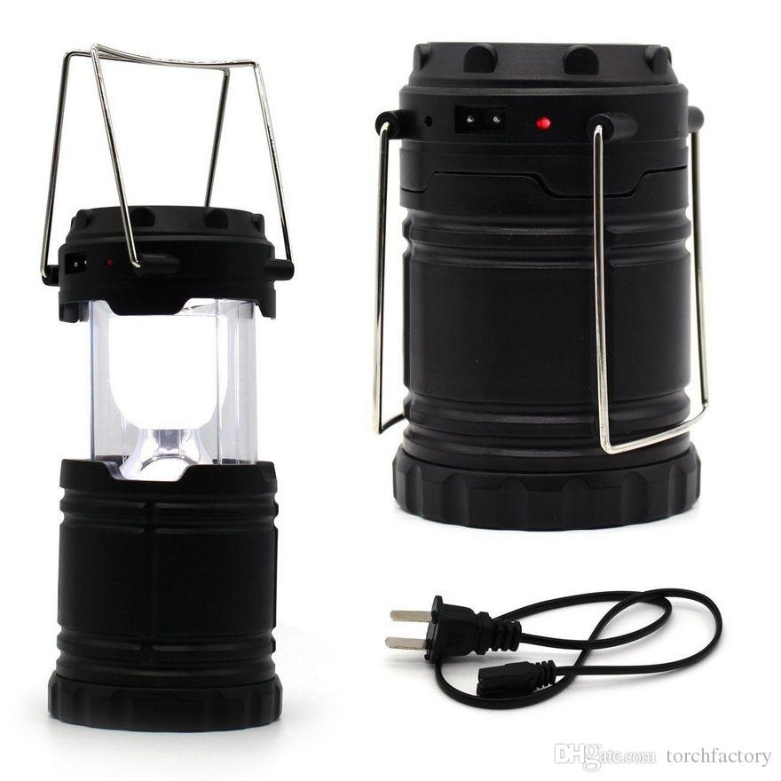 Solar Rechargeable Light Lamp Lantern Lights Outdoor Home Garden With Regard To Outdoor Rechargeable Lanterns (#11 of 15)