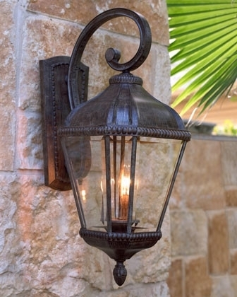 Stylish Idea Outside Lantern Lights Outdoor Lighting Brilliant Solar Pertaining To Outdoor Lanterns Lights (View 2 of 15)