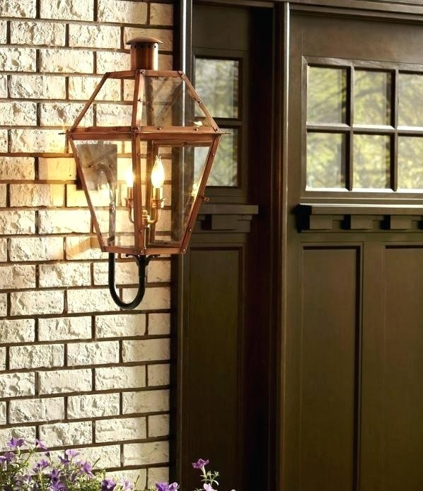 Swingeing Quoizel Outdoor Wall Sconce Collection From The Copper In Quoizel Outdoor Lanterns (#15 of 15)