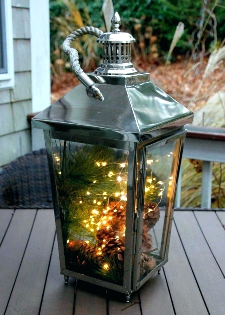 Tall Outdoor Lanterns Tall Garden Lights Outdoor Lanterns Stainless For Silver Outdoor Lanterns (#12 of 15)