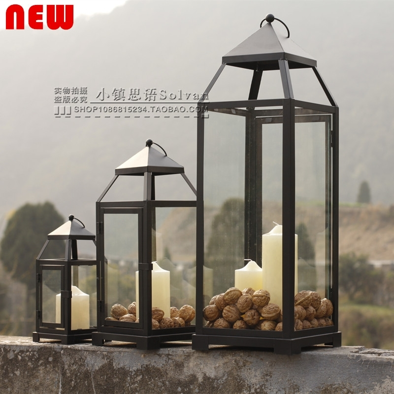 Tall Silver Outdoor Lanterns – Outdoor Lighting Ideas With Silver Outdoor Lanterns (#14 of 15)