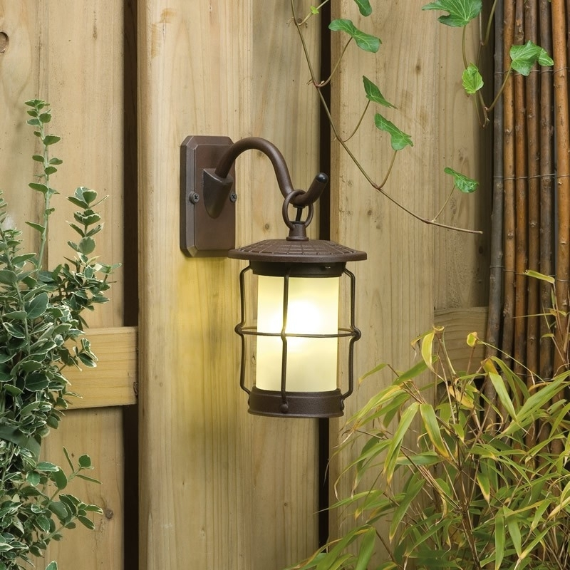 Techmar Callisto Garden 12V Led Wall Lighting With Plug In Outdoor Lanterns (#14 of 15)