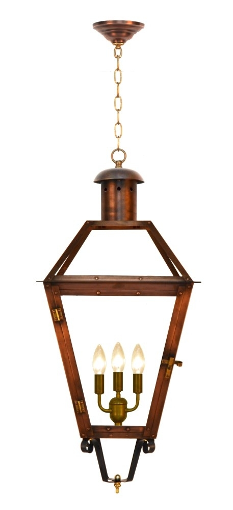 Inspiration about The Coppersmith Georgetown Gas And Electric Lantern Georgetown Gas Intended For Copper Outdoor Electric Lanterns (#10 of 15)