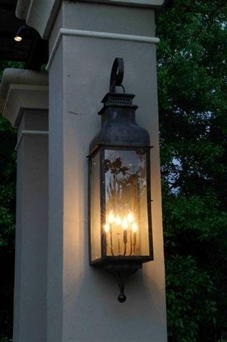 Inspiration about The Sarasota Lantern — Gas Or Electric | The Carolina Collection Intended For Outdoor Lanterns Lights (#14 of 15)