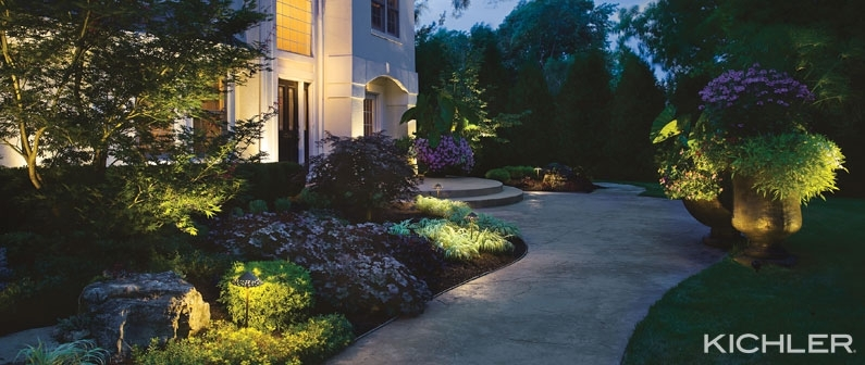 Inspiration about The Secret Of Outdoor Lighting Design Throughout Kichler Outdoor Lanterns (#7 of 15)