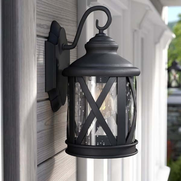Inspiration about Three Posts Zeigler Outdoor Wall Lantern & Reviews | Wayfair Pertaining To Outdoor Wall Lanterns (#7 of 15)