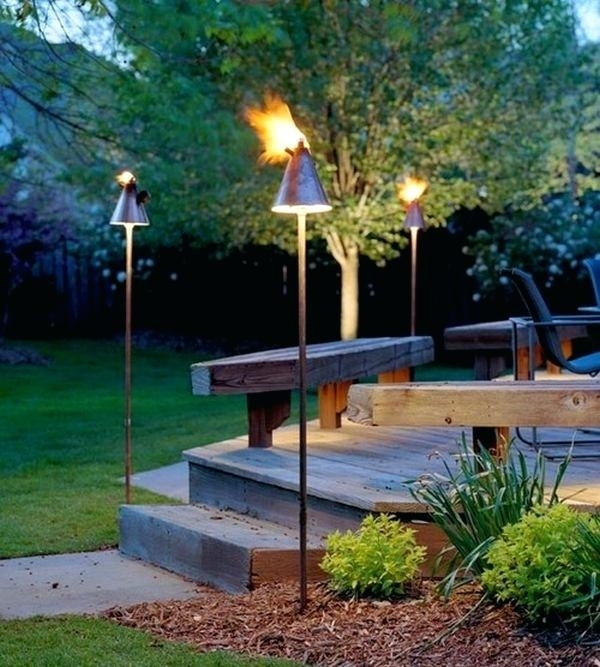 Tiki Patio Ideas How To Create A Tropical Patio In 5 Easy Steps Intended For Outdoor Tropical Lanterns (View 9 of 15)