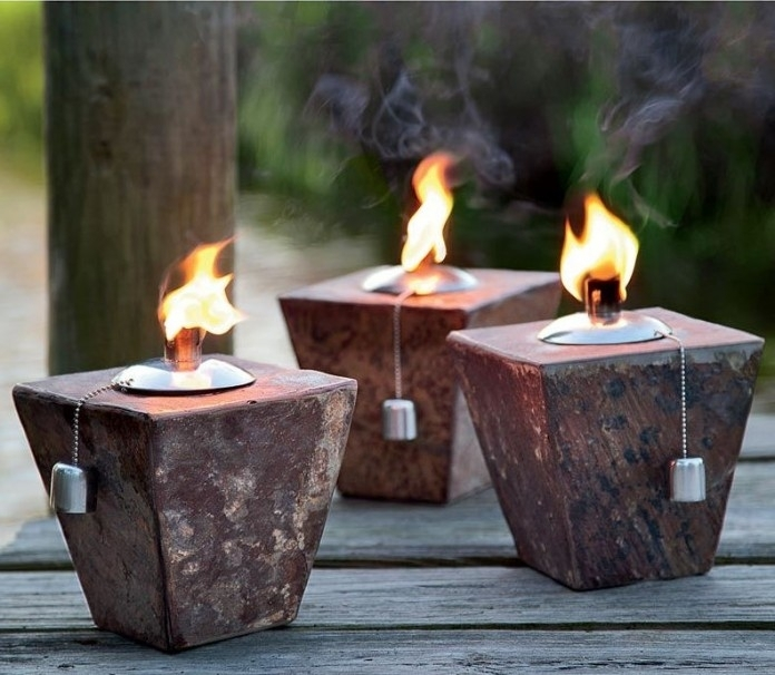 Inspiration about Tiki Torch Lights And Outdoor Oil Lamps: Garden Party Gear Regarding Outdoor Tiki Lanterns (#8 of 15)
