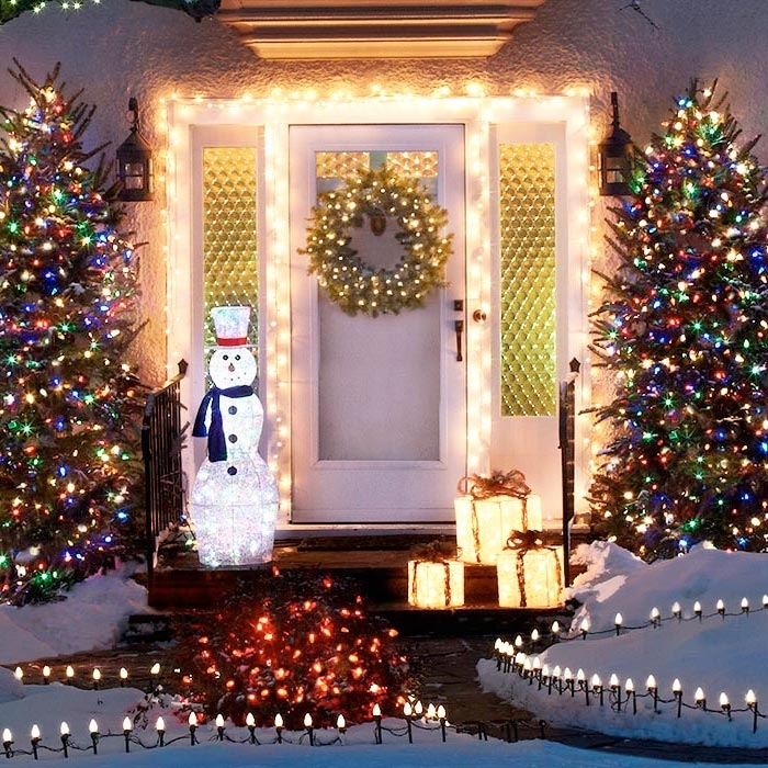 Tips For Hanging Outdoor Christmas Lights In Outdoor Lanterns For Christmas (View 2 of 15)