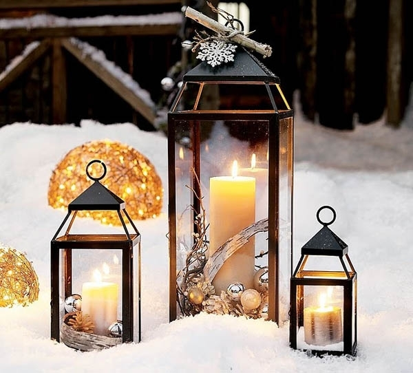 Top Christmas Lantern Decorations To Brighten Up The Holiday Within Outdoor Holiday Lanterns (View 5 of 15)
