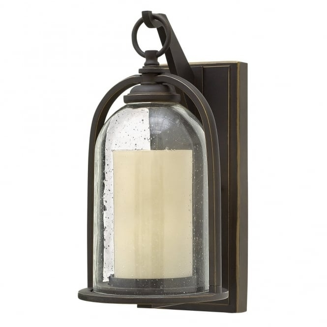 Inspiration about Traditional Glass Bell Shaped Outdoor Lantern With Candle Glass In Outdoor Lanterns Without Glass (#7 of 15)