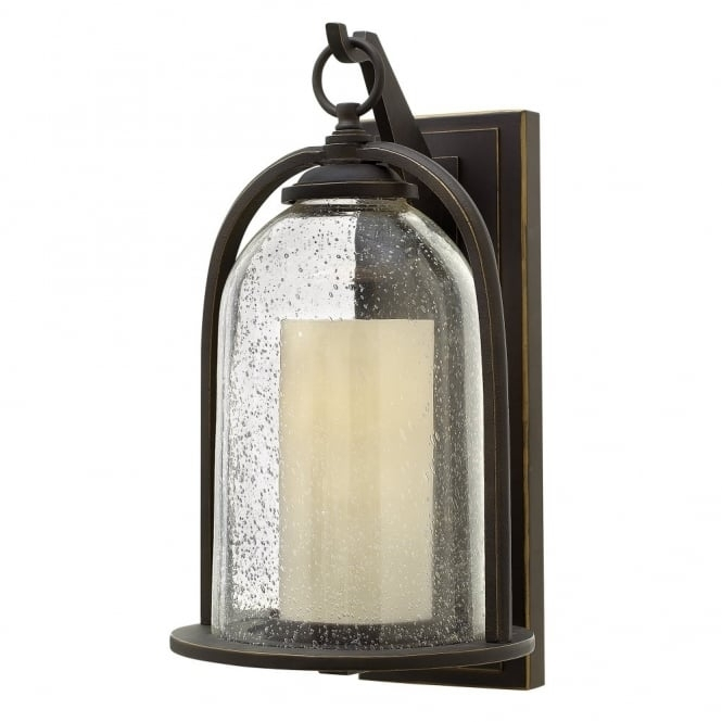 Inspiration about Traditional Glass Bell Shaped Outdoor Lantern With Candle Glass Inside Outdoor Lanterns Without Glass (#5 of 15)