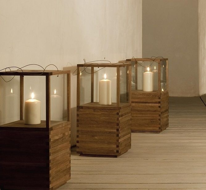 Inspiration about Tribu Teak Outdoor Lanterns Http://www.coshliving.au/outdoor Within Outdoor Teak Lanterns (#7 of 15)