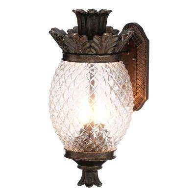Tropical – Outdoor Wall Mounted Lighting – Outdoor Lighting – The Intended For Outdoor Pineapple Lanterns (#14 of 15)