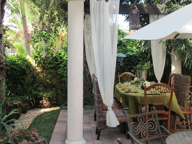 Inspiration about Tropical Patio Tropical Dining Moroccan Lanterns Outdoor Space Within Outdoor Tropical Lanterns (#2 of 15)