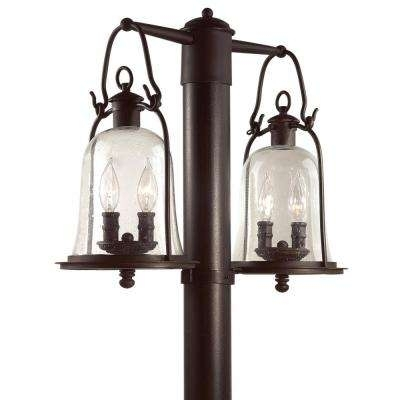 Inspiration about Troy Lighting – Post Lighting – Outdoor Lighting – The Home Depot Intended For Outdoor Lanterns On Post (#3 of 15)