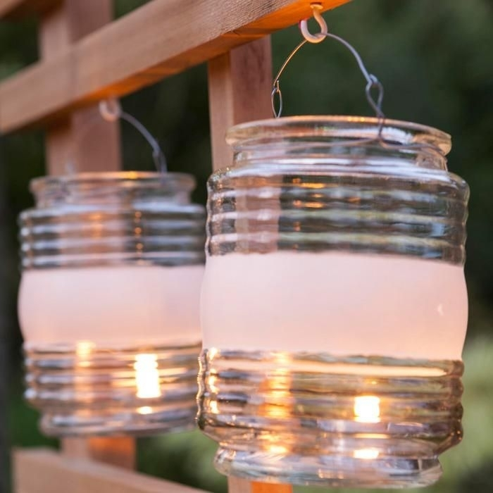 Inspiration about Turn An Empty Clear Jelly Jar Glass Into A Quick And Easy Lantern Regarding Outdoor Empty Lanterns (#1 of 15)