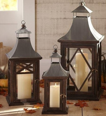 Update Your Outdoor Lighting With Lanterns Throughout Outdoor Lanterns At Pottery Barn (View 5 of 15)