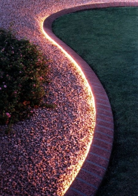 Use Rope Lighting To Line Your Garden (#15 of 15)