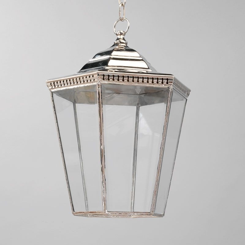 Vaughan: Lighting, Georgian Porch Lantern Nickel, Large, 1 Light With Regard To Vaughan Outdoor Lanterns (View 14 of 15)