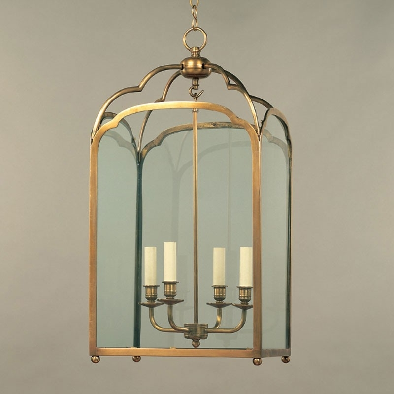 Vaughan – Winslow Square Lantern Cl0244.br (View 6 of 15)