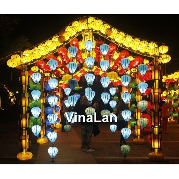 Inspiration about Vietnam Silk Lanterns For Outdoor Wedding Decoration – Lanterns For Inside Outdoor Vietnamese Lanterns (#4 of 15)