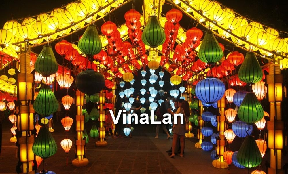 Popular Photo of Outdoor Vietnamese Lanterns