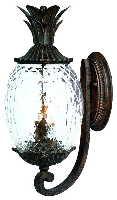 Wall Lantern Outdoor Lighting | Fashionpro For Outdoor Pineapple Lanterns (#15 of 15)