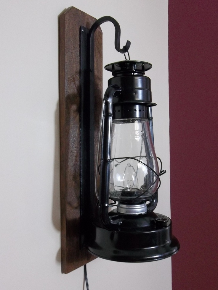Wall Sconce Ideas : Rustic Electric Lantern Wall Sconces, Small With Regard To Rustic Outdoor Electric Lanterns (#15 of 15)