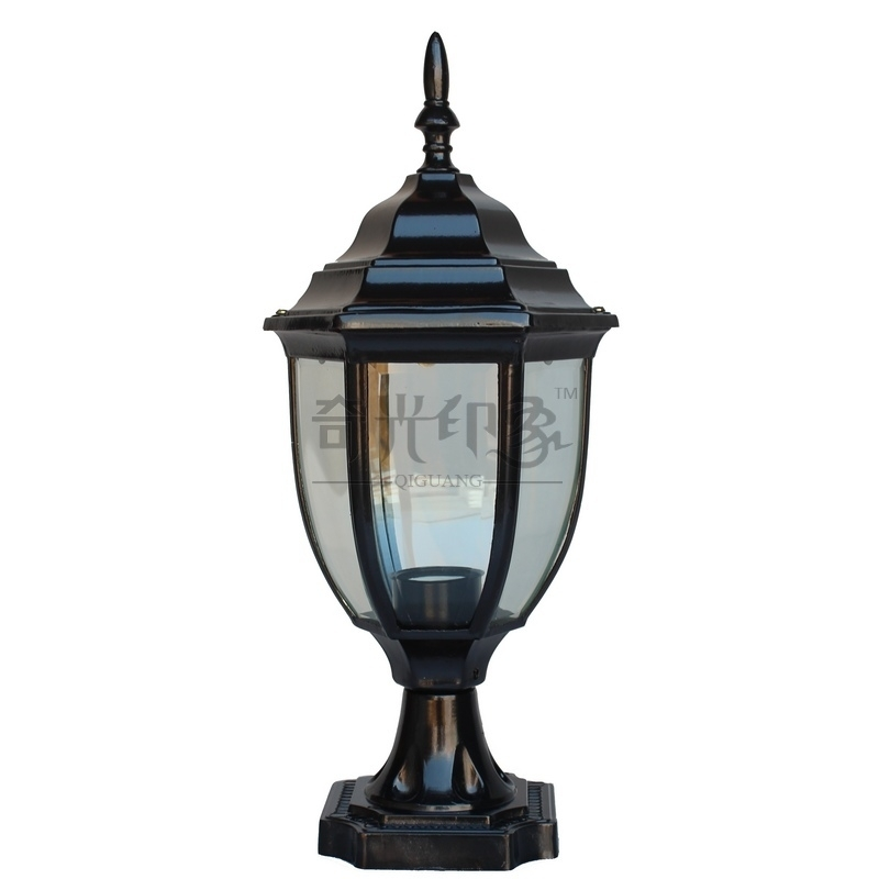 Inspiration about Waterproof Outdoor Lamp Post Fashion Column Wall Light Lawn Lamp Within Outdoor Lamp Lanterns (#2 of 15)