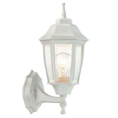 Inspiration about Weather Resistant – White – Outdoor Lanterns – Outdoor Wall Mounted Throughout Outdoor Weather Resistant Lanterns (#5 of 15)
