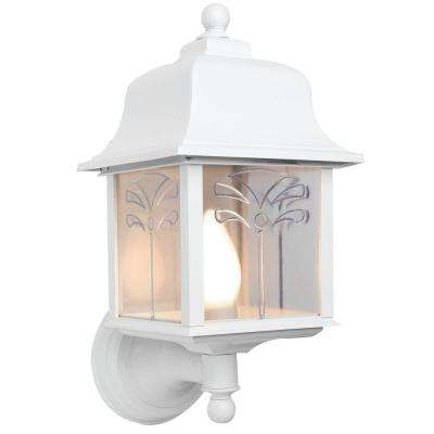 Inspiration about White – Cottage – Outdoor Wall Mounted Lighting – Outdoor Lighting With White Outdoor Lanterns (#6 of 15)